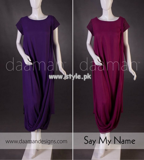 Daaman Summer Latest Casual Dresses 2013 007