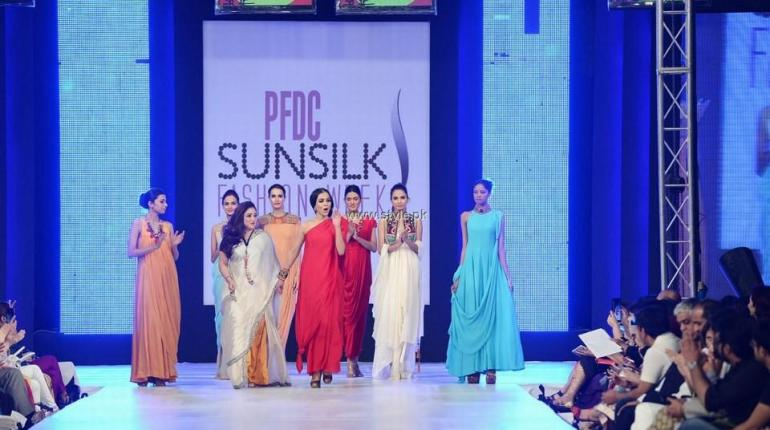 FnkAsia Collection at PFDC Sunsilk Fashion Week 2013