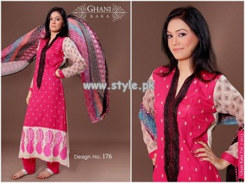 Ghani Textile New Dresses For Summer 2013 005