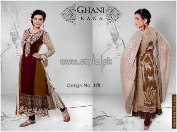 Ghani Textile New Dresses For Summer 2013 006