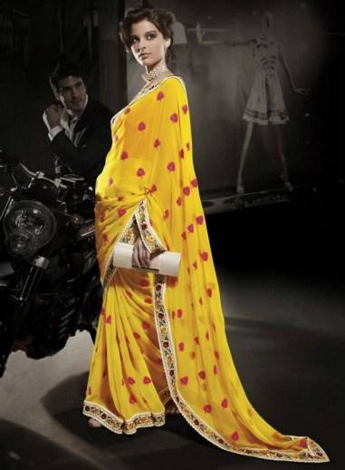 Nakshatra Designerwear Summer Saree Collection 2013 For Women 001
