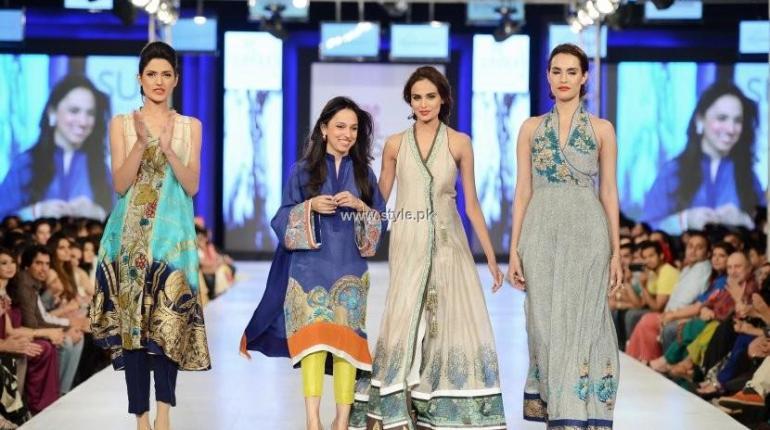 Nida Azwer Collection at PFDC Sunsilk Fashion Week 2013