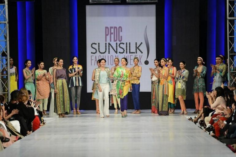 Sania Maskatiya Collection at PFDC Sunsilk Fashion Week 2013