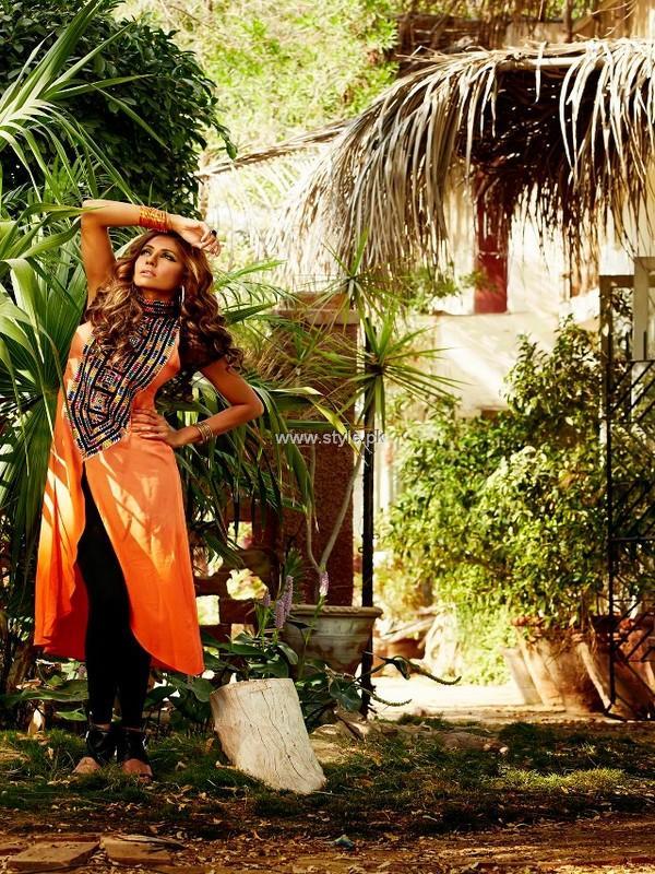 Sarah Gandapur Spring Summer Collection 2013