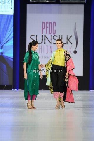 Somal Halepoto Collection at PFDC Sunsilk Fashion Week 2013
