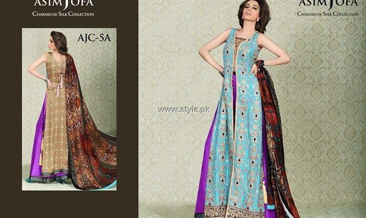 Asim Jofa Silk Collection 2013 for Women