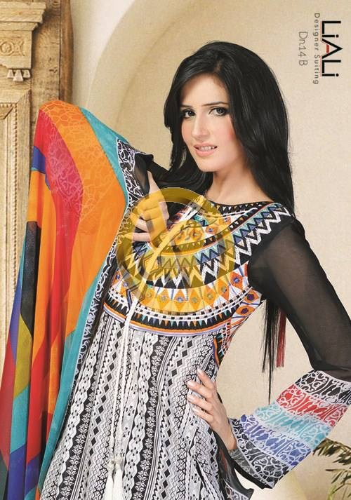 Dawood Textiles Liali Lawn Collection 2013 Volume 2 For Women 0018