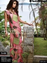 Gul Ahmed Single Lawn Eid Collection 2013 009