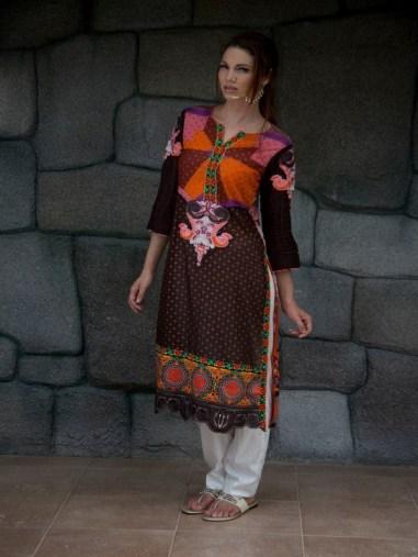 LSM Fabrics Kurti Collection 2013 for Girls 009