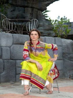 LSM Fabrics Kurti Collection 2013 for Girls 010