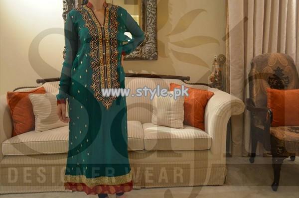 Sajh Designer Wear Formal Wear Collection 2013 For Women 007