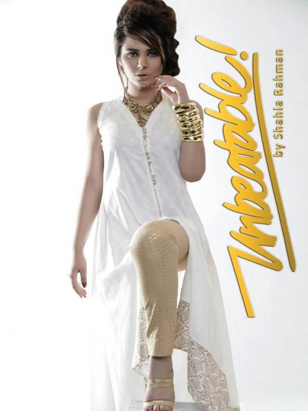 Unbeatable by Shahla Rahman Party Wear Dresses 2013