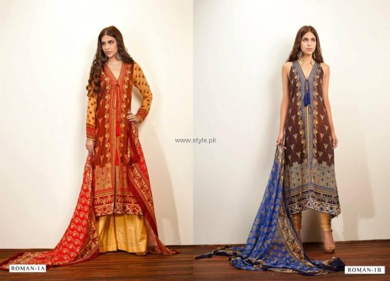 Zaheer Abbas Lawn 2013 by Shariq Textiles