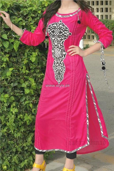 Zahra Ahmad Casual Wear 2013 Dresses for Women