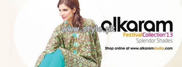 Al-Karam Textile Festive Single Prints 2013 For Eid-Ul-Fitr 004