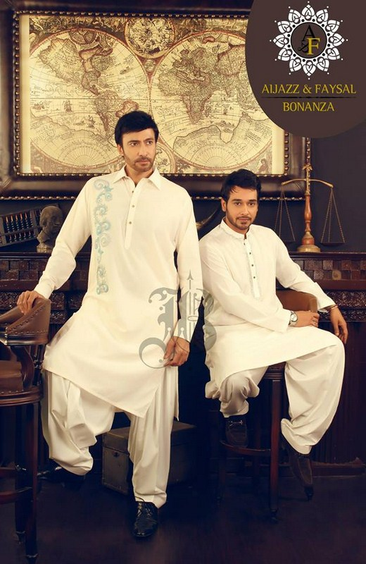 Bonanza Garments Eid Collection 2013 For Men 001