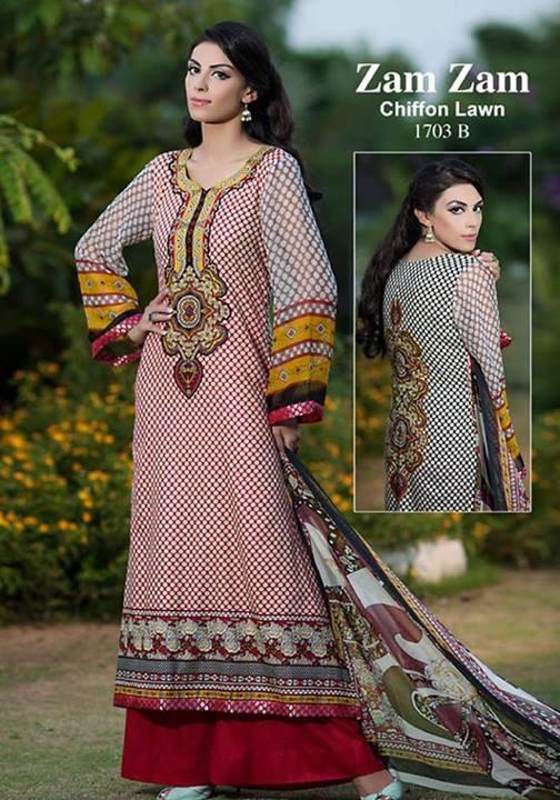 Dawood Textiles Zam Zam Lawn Collection 2013 Volume 3 For Women 006