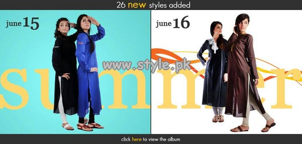 Ego Casual Wear Dresses 2013 For Young Girls 005
