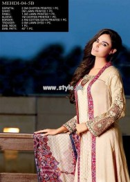 Jubilee Cloth Mills Eid Collection 2013 For Women 002