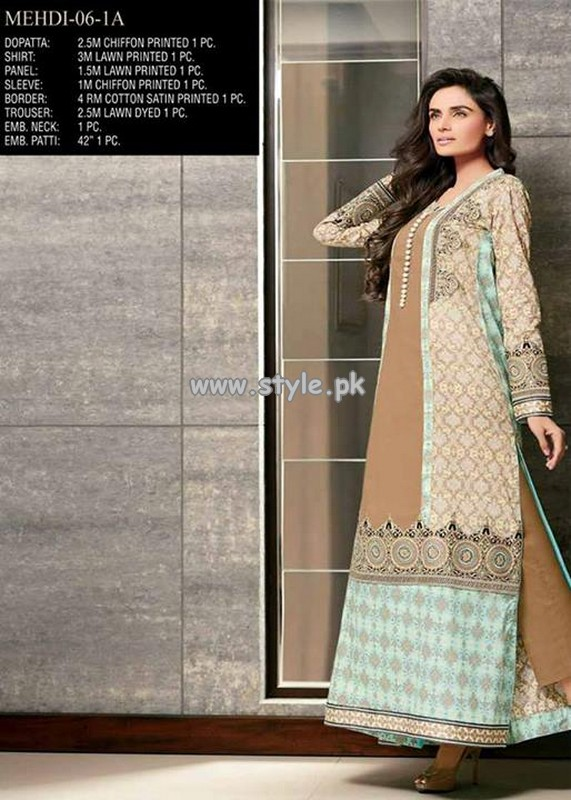 Jubilee Cloth Mills Eid Dresses 2013 For Women 009
