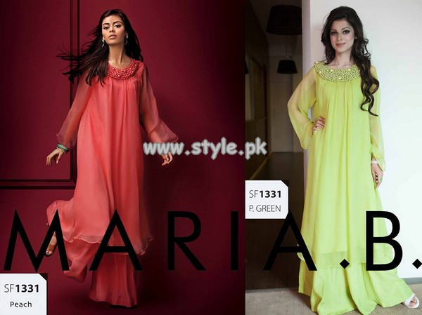 Maria B Embroidered Dresses 2013 For Eid-Ul-Fitr 006
