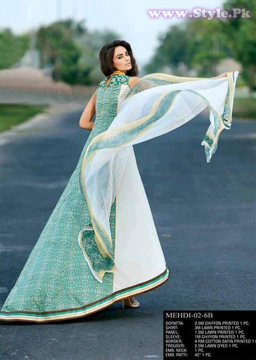 Mehdi Royal Eid Collection 2013 for Women