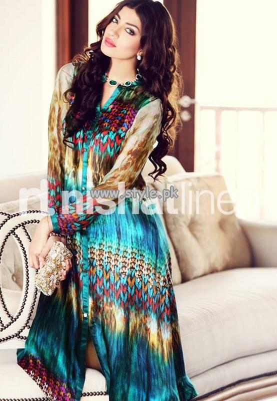 Nishat Linen Digital Print Collection 2013 For Women 009