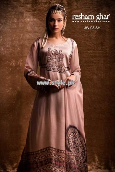 Resham Ghar Eid Collection 2013 For Girls 001