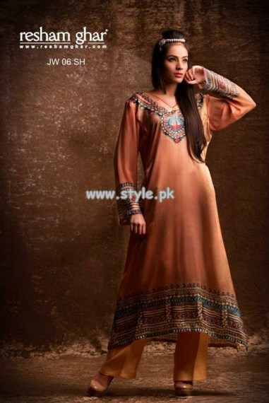 Resham Ghar Eid Collection 2013 For Girls 003