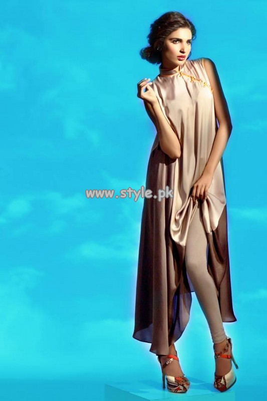 Sanam Chaudhri Eid Collection 2013 For Bonanza Garments 005