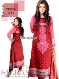 Silkasia Eid Collection 2013 For Girls 001