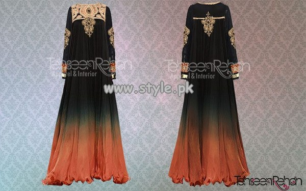 Tehseen Rehan Couture Eid Collection 2013 For Girls 001