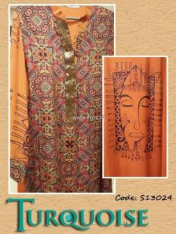 Turquoise Eid Collection 2013 for Women 006