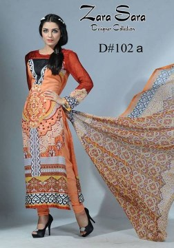 Zara Sara Collection 2013 by Dawood Lawns 013