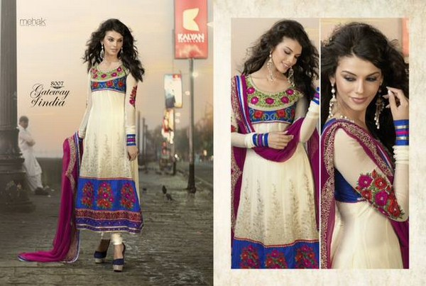 Zobi Fabrics Eid Collection 2013 For Women