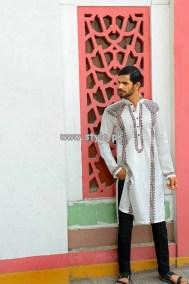 Arsalan Iqbal Kurta Shalwar Designs 2013 For Boys 003