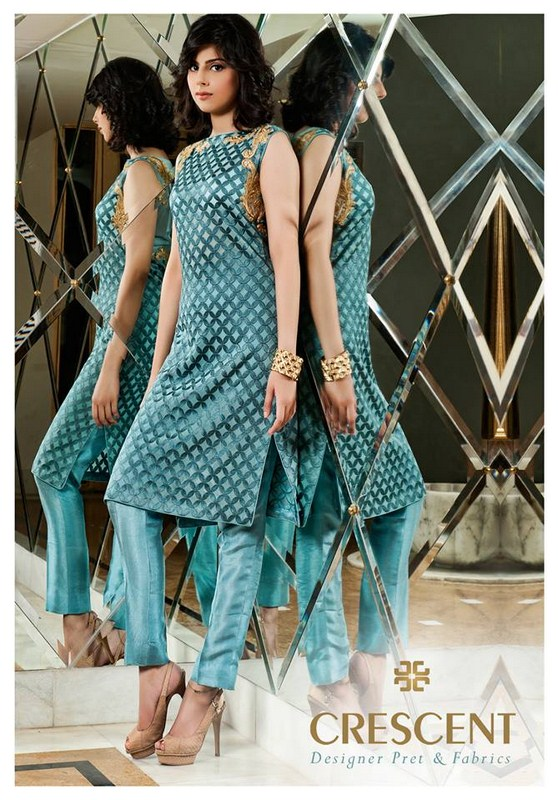 Crescent Lawn Eid Collection 2013 For Women 009