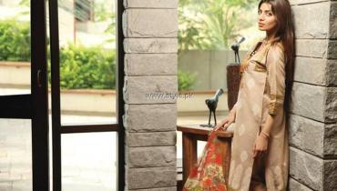 Khaadi Handwoven Silk Cotton Collection 2013 for Women
