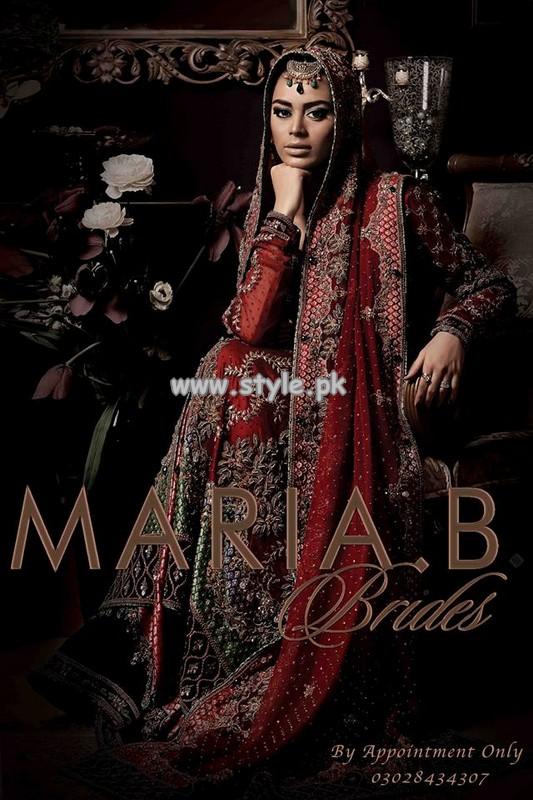 Maria B Bridal Dresses 2013 For Wedding 001