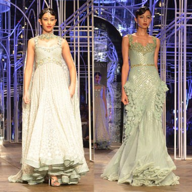 Tarun Tanhiliani Collection At Indian Bridal Fashion Week 2013 0014
