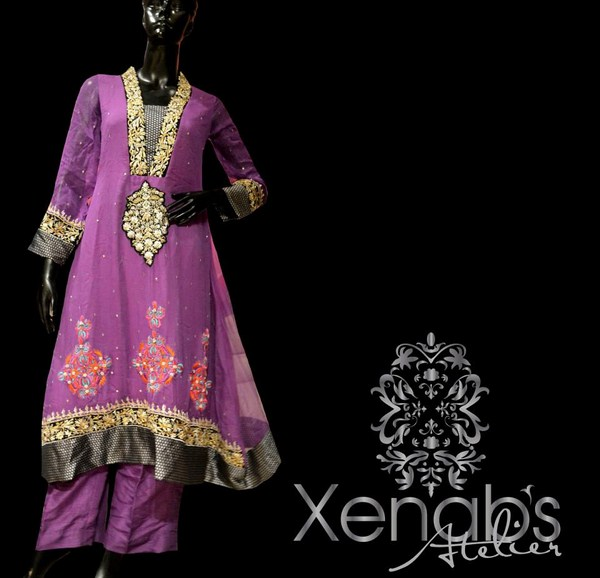 Xenab's Atelier Party Dresses 2013 For Women 007
