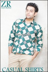 Zayn Rashid Casual Wear Shirts 2013 For Boys 002