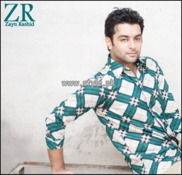Zayn Rashid Casual Wear Shirts 2013 For Men 008