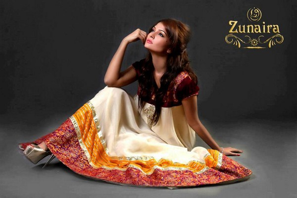Zunaira Lounge Party Wear Collection 2013 For Women 0016
