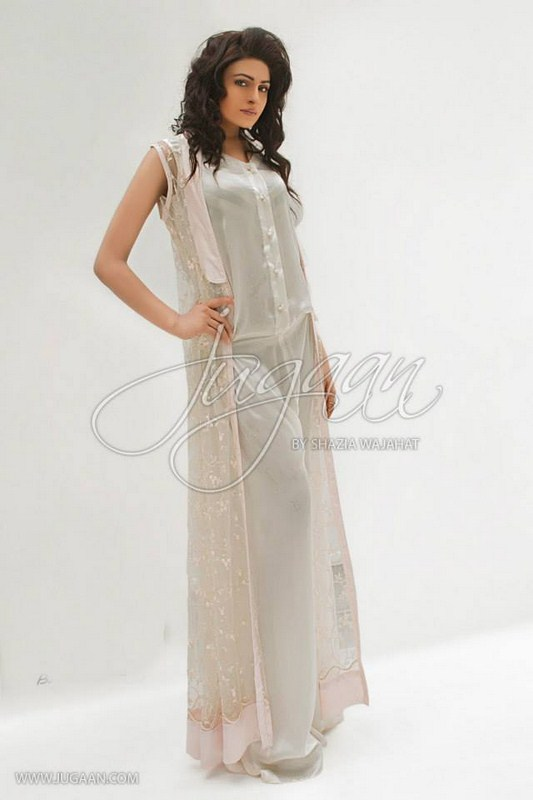 Juggan Semi Formal Wear Collection 2013 For Women 005