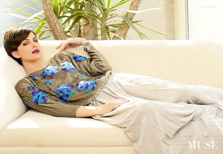 Muse Fashion Party Wear Collection 2013 for Women