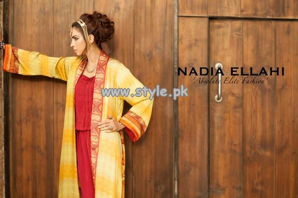 Nadia Ellahi Digital Print Collection 2013 For Women 007
