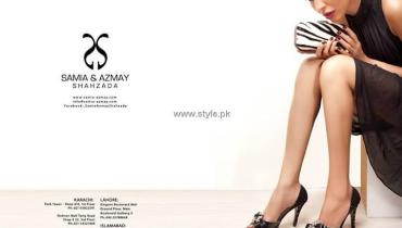 Samia and Azmay Shahzada Fall Collection 2013 for Women