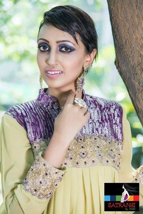 Satrangi by Saqib Fall Collection 2013 for Women