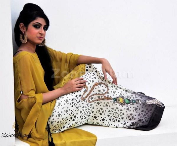 Zohra Alam Fall Dresses 2013 For Women 001